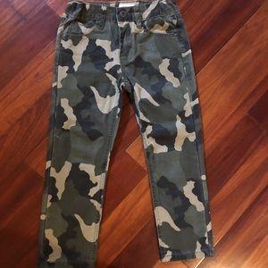 Hudson camo pants skinny
